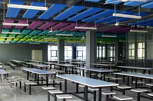 学生食堂/Student Cafeteria