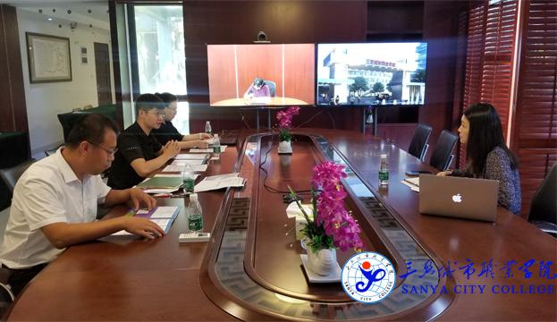 加拿大萨斯喀彻温省理工学院代表拜访我院,洽谈中外合作办学